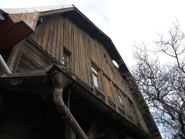 Oprava a zateplení dřevěné fasády: P1080143