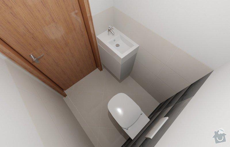 Nábytek koupelna, montáž dvířek kuchyň: z05_bora_WC_-_02