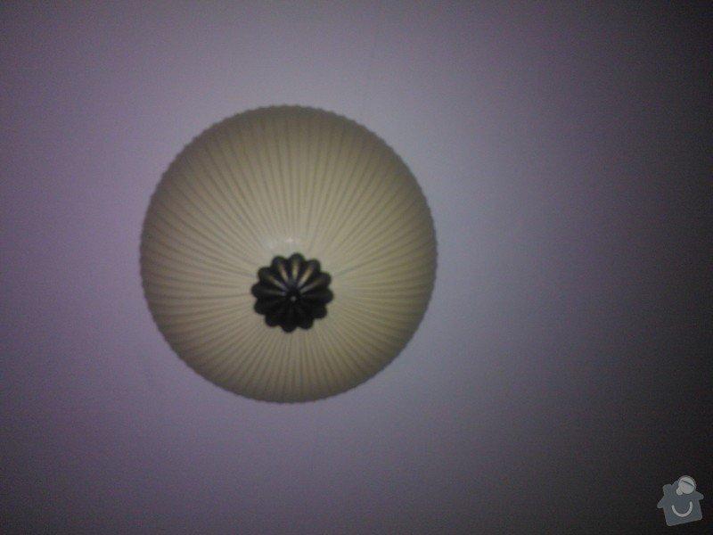 Zapojení stropního svítidla, popř. oprava elektroinstalace pod sádrokartonem: WP_000309