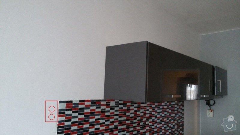 Zásuvky pro kuchyňskou linku + 1 TV zásuvka: kuchyne_3