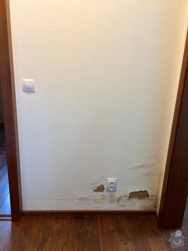 Oprava zatékajícího sprchového koutu: chodba2