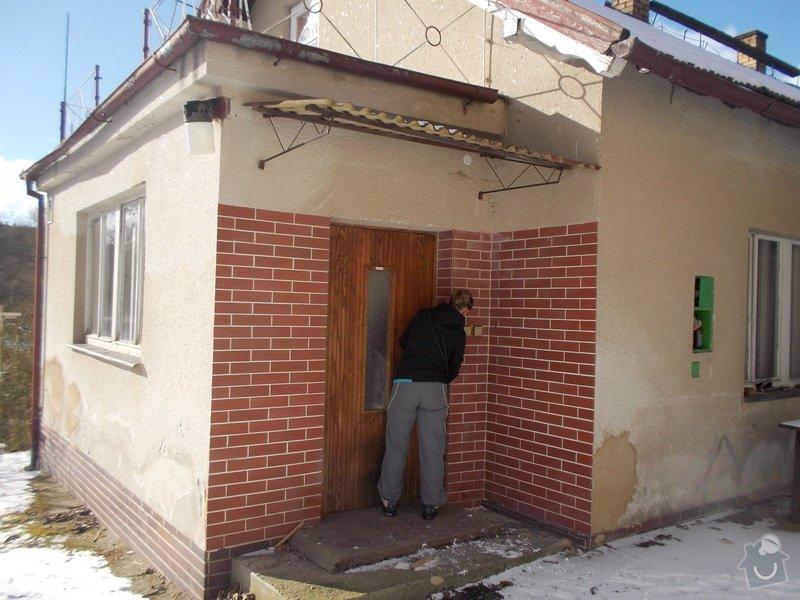 Částěčnou rekonstrukci domku: DSCN9484