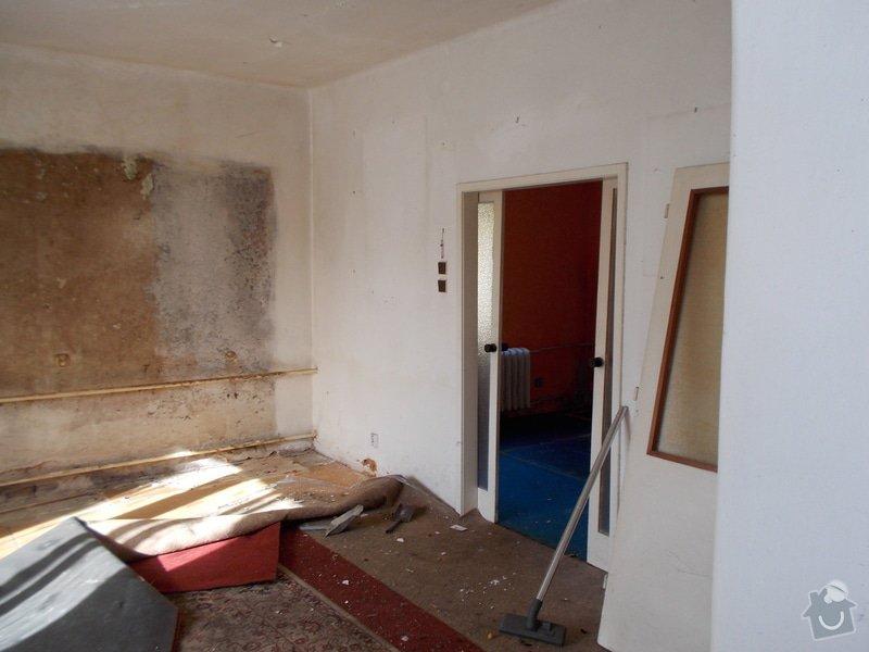 Částěčnou rekonstrukci domku: DSCN9548