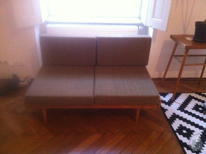 Přečalounění matrací na pohovce: photo