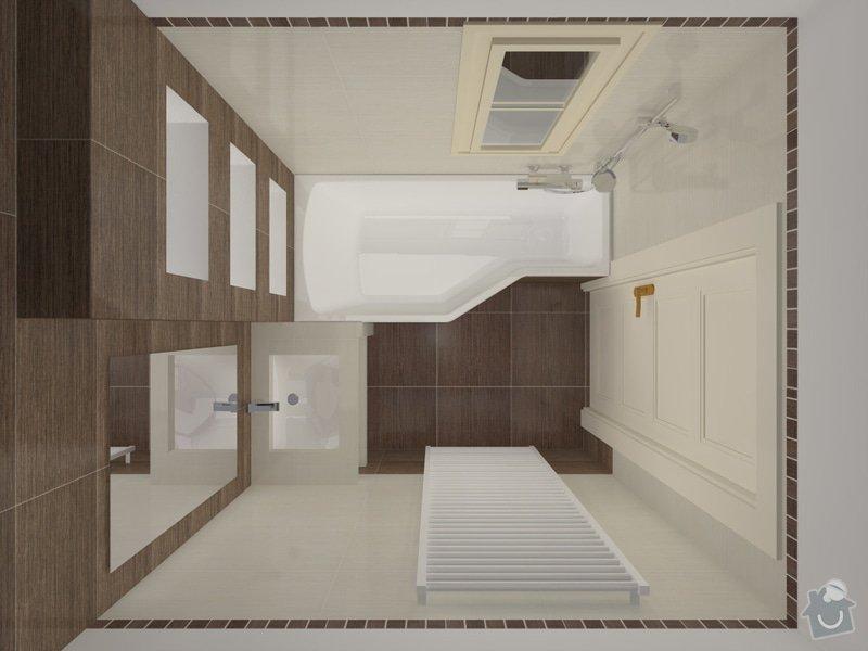 Rekonstrukce koupelny: koupelna_P