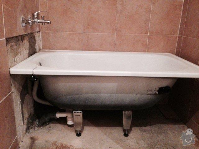 Usazení vany (obezdění, obklady, silikon): FullSizeRender_2_