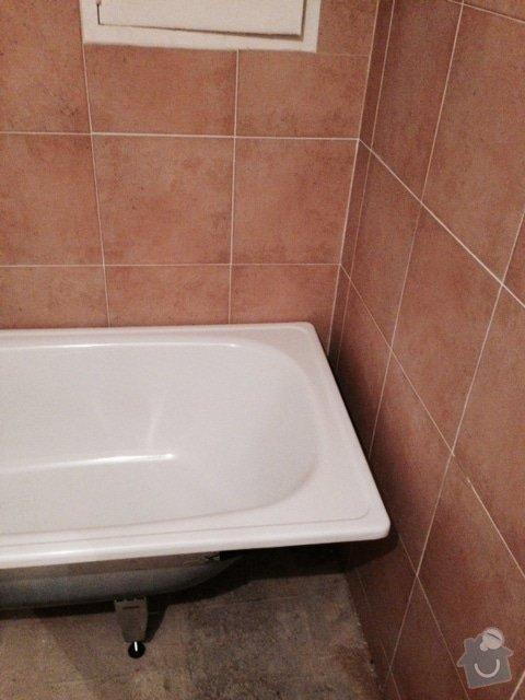 Usazení vany (obezdění, obklady, silikon): FullSizeRender