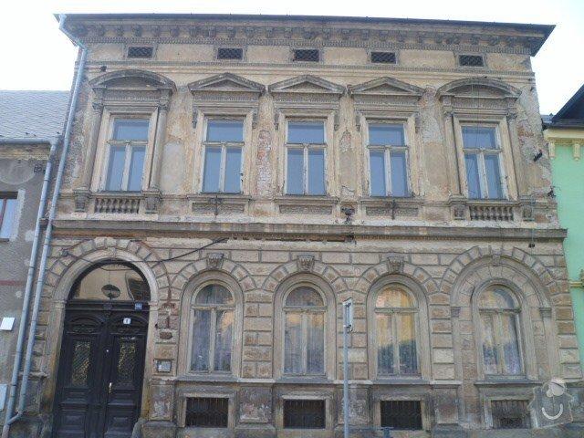 Opravu historické fasády ve Šternberku: P1020942