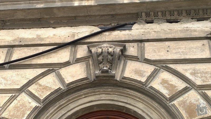 Opravu historické fasády ve Šternberku: detail_1