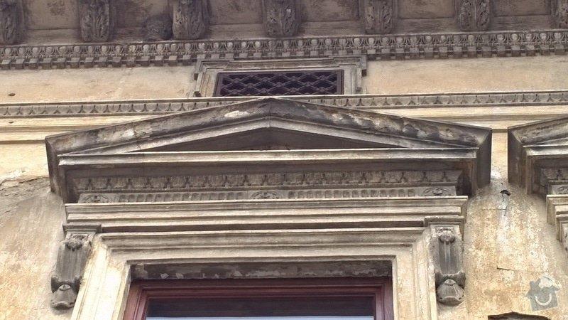 Opravu historické fasády ve Šternberku: detail_2