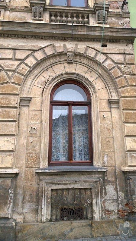 Opravu historické fasády ve Šternberku: detail_6