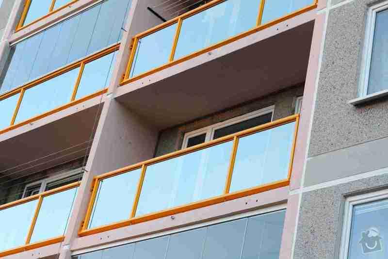 Zasklení lodžie: Bukolska_balkon_01