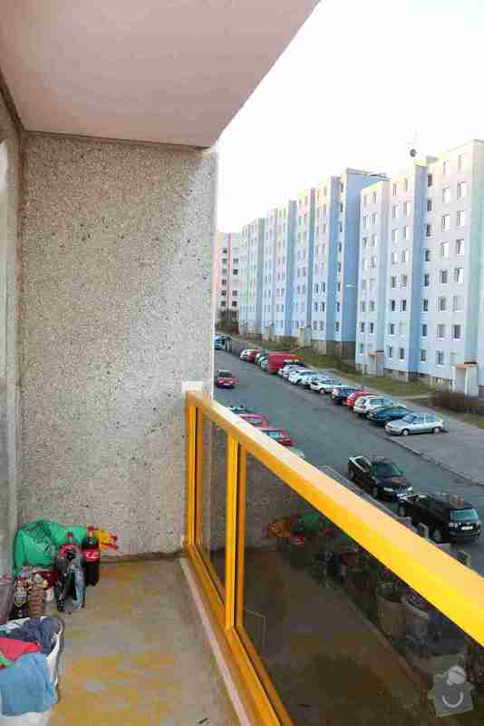 Zasklení lodžie: Bukolska_balkon_03