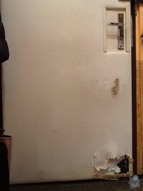 Přečalounění bezpečnostních dveří: image1