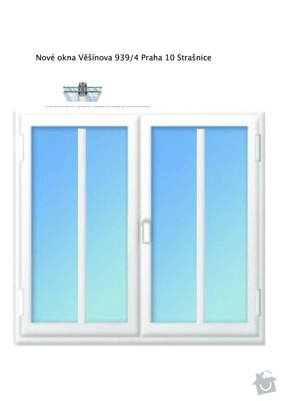 Plastová okna pro bytový dům včetně montáže. : Pohled_Okno_dvoukridlove_1780_x_1680_9_ks