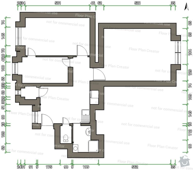 Nová elektroinstalace v bytě 2+1: Schnirchova_-_final_no_door_change_150303151343