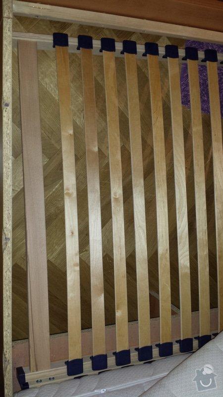 Oprava/zpevnění postele: Katarina_Soltesova_Postel_1