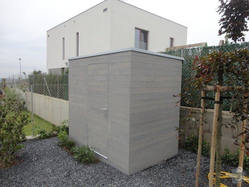 Vystavba zahradniho domku 1,6x2,5m: 4244-151204