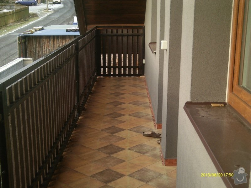 Oplechování balkonu 12m2: IMAG0257