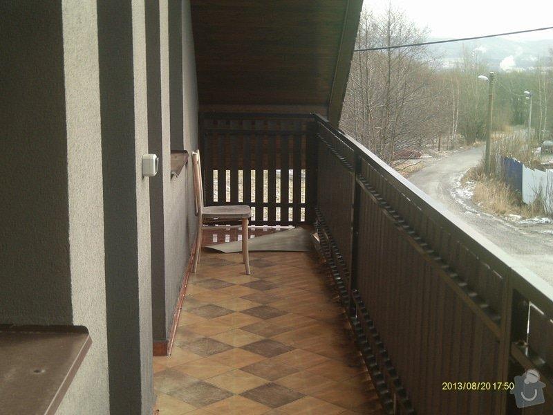 Oplechování balkonu 12m2: IMAG0258