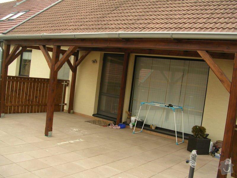 Zábradlí + pergola na střeše garáže: DSCN9160