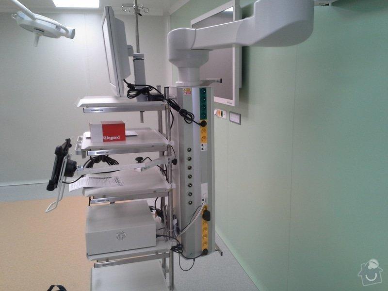 Výměna elektroinstalace při rekonstrukci op. sálu B chirurgie nemocnice ve Vrchlabí: 20150204_100607