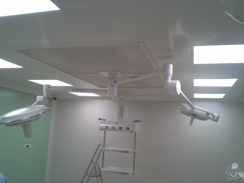 Výměna elektroinstalace při rekonstrukci op. sálu B chirurgie nemocnice ve Vrchlabí: Vrchlabi_foto