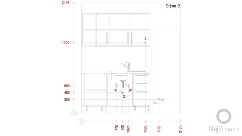 Příprava na kuchyňskou linku: IP_Stena_B