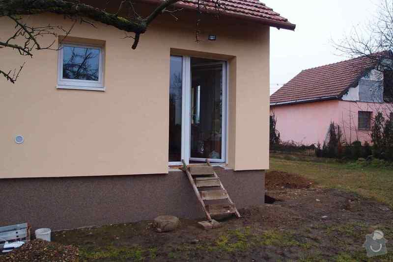 Stavbu jednoduchého terénního schodiště: P2243651