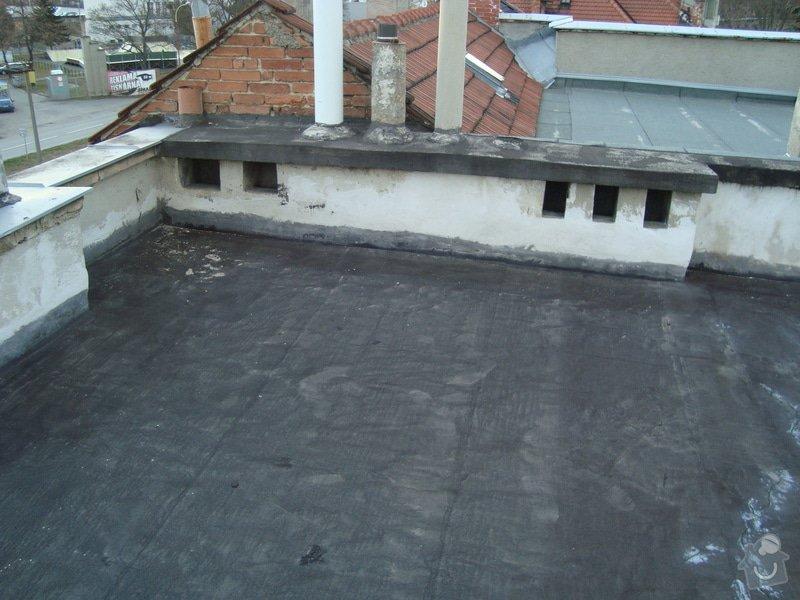 Hydroizolace a zateplení ploché střechy cca 100m2: 2015-03-04_18.10.05