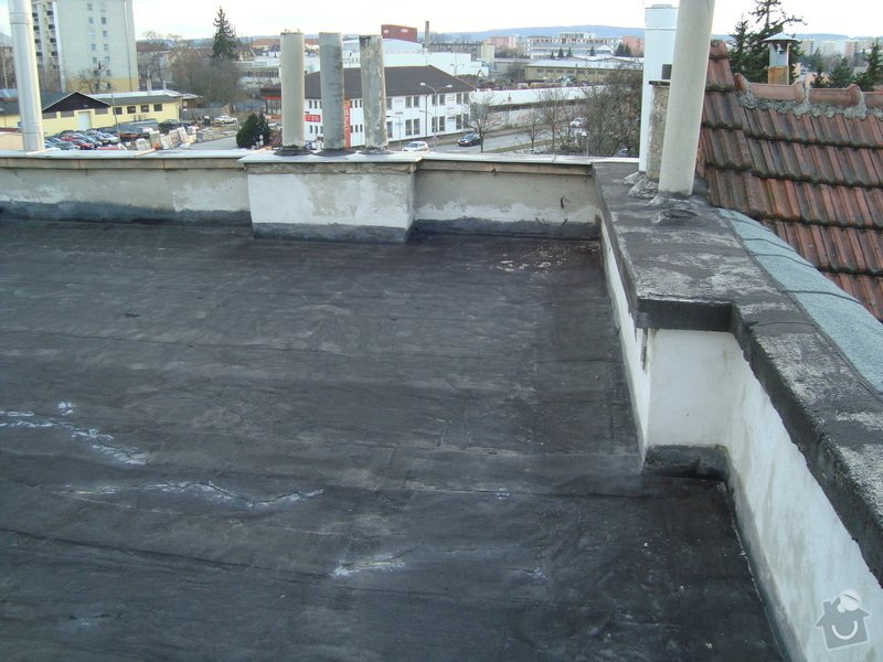 Hydroizolace a zateplení ploché střechy cca 100m2: 2015-03-04_18.10.20