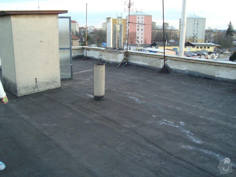 Hydroizolace a zateplení ploché střechy cca 100m2: 2015-03-04_18.10.25