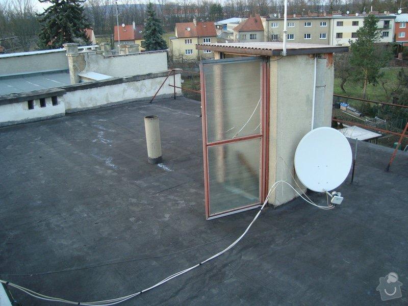 Hydroizolace a zateplení ploché střechy cca 100m2: 2015-03-04_18.12.12