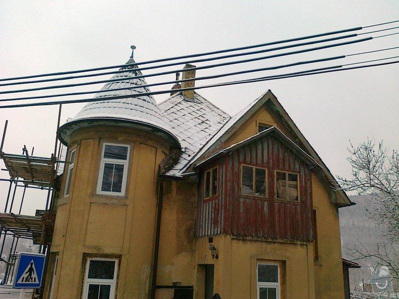 Rekonstrukce střešního pláště: 08012015333