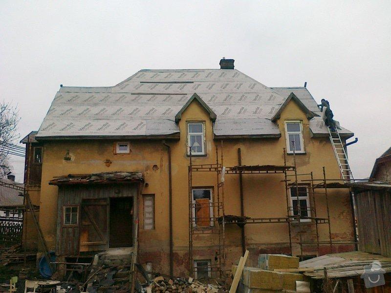 Rekonstrukce střešního pláště: 18022015343
