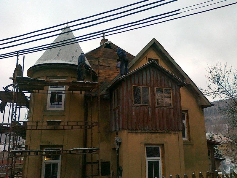 Rekonstrukce střešního pláště: 21012015338