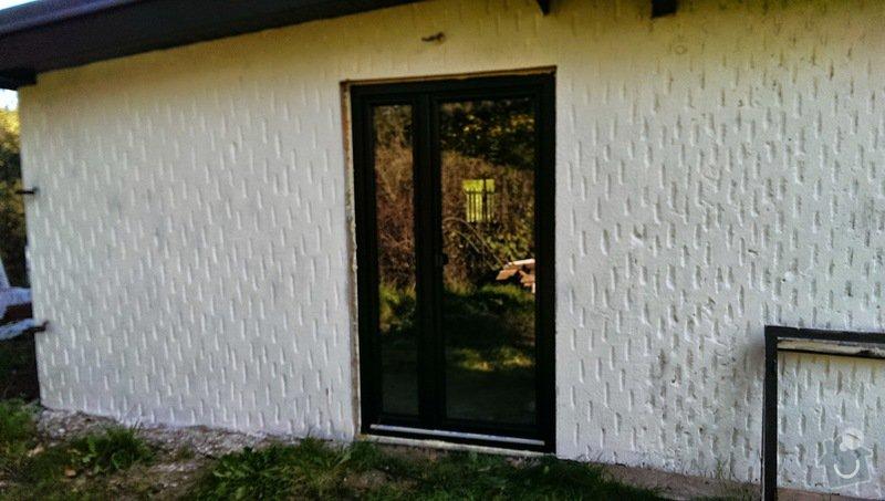Montaz jednoho plast.okna, parapetů a zednické práce: image