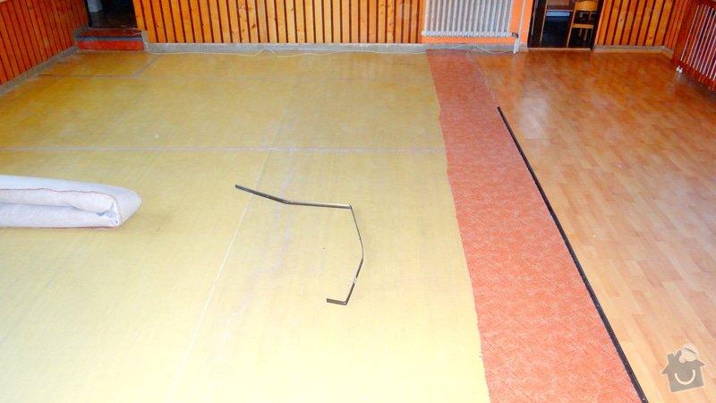 Pokládka podlah MŠ Hradčany: DSC06515