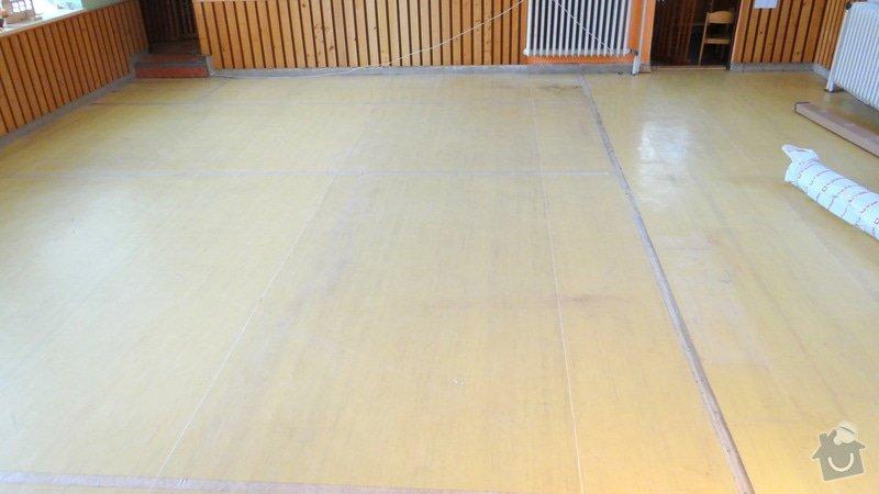 Pokládka podlah MŠ Hradčany: DSC06526