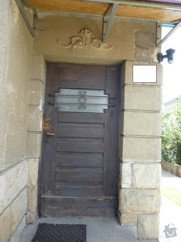 Repas dřevěných vchodových dveří: dvere