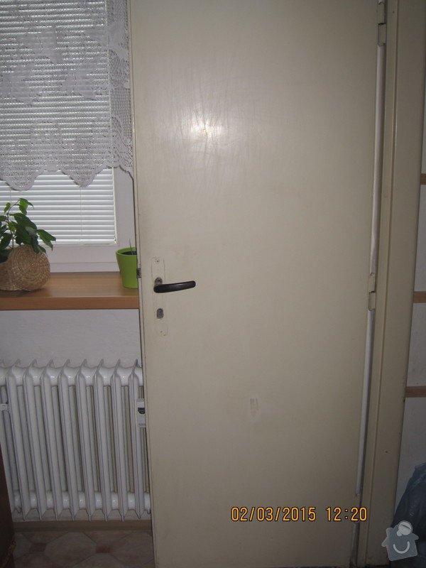 Renovace dveří - tapetování: Komurka