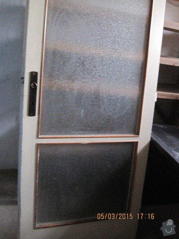 Renovace dveří - tapetování: Kuchyne