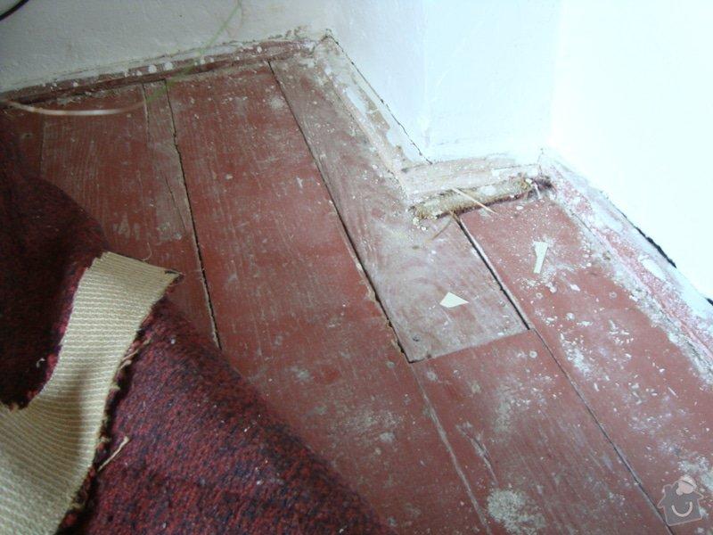 Rekonstrukce podlahy: DSC08996