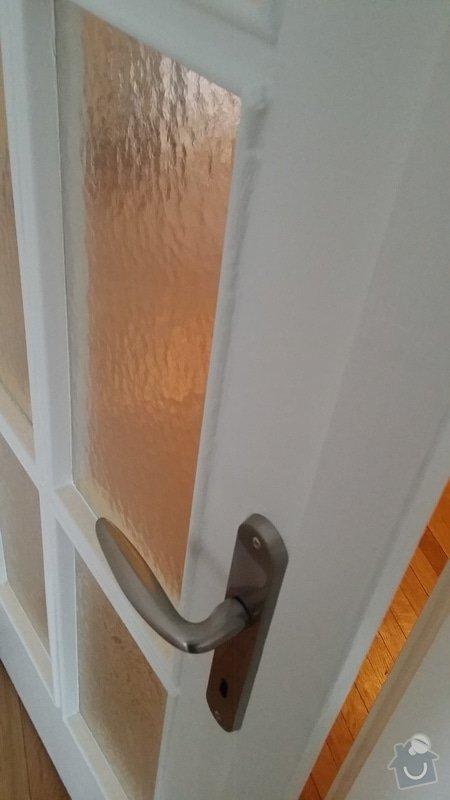 Renovace bytových dveří (9x): 2a