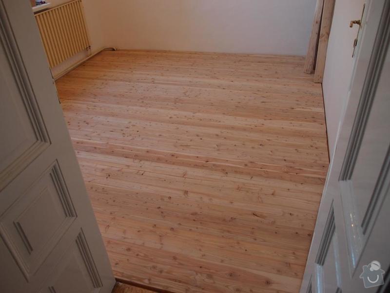 Pokládka podlahy a nábytek do pokoje: 3