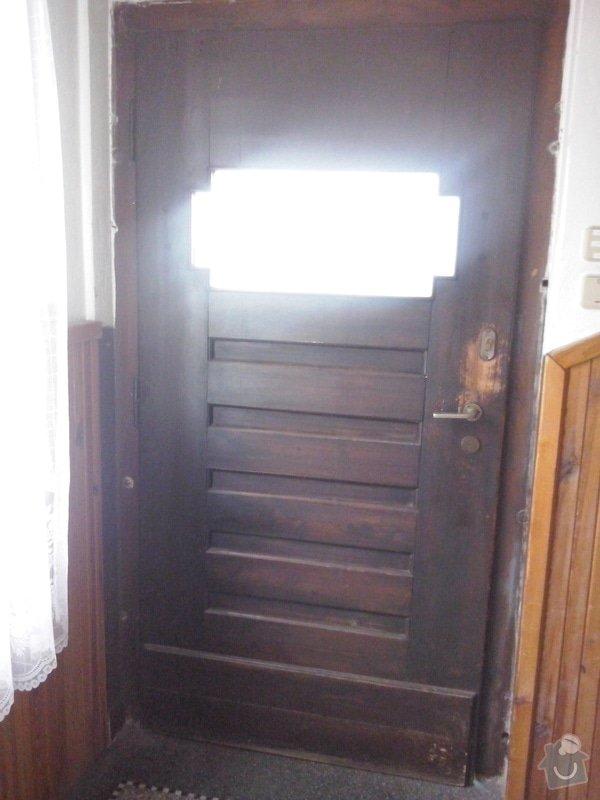 Repas dřevěných vchodových dveří: CAM00043