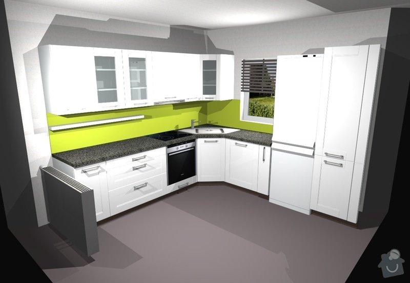 Kuchyňská linka se spotřebiči: r22