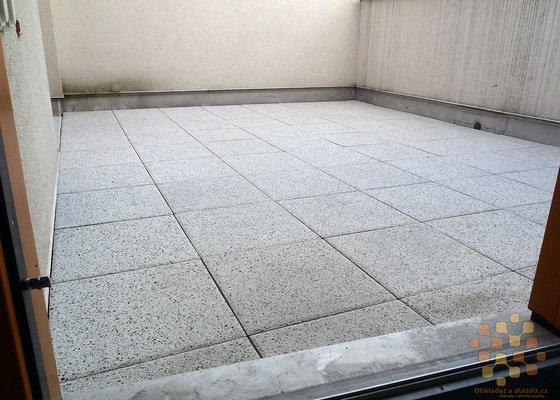 Dodávka a pokládka terasové dlažby