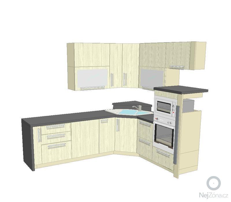 Montáž kuchyňské linky: pohled