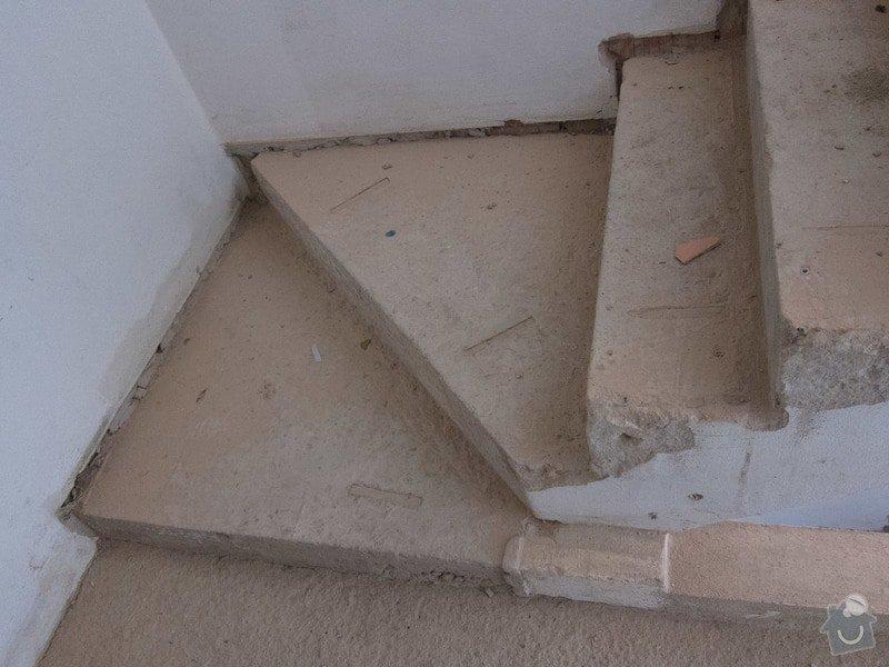 Obložení betonového schodiště a nové zábradlí: atyp_schody